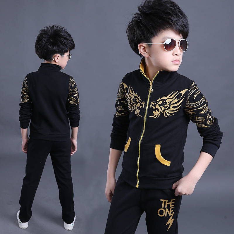 Fashion long sleeve tops and pants suit brand autumn boy fall clothing set<br><br>Aliexpress
