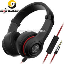 SONGIDEAL Headphones On ear Noise Isolating Headsets with Mic and Remote for Kids Adults For iphone Samsung Computer MP3/4 Black