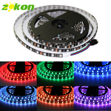 5m DC12V SMD 5050 RGB Led Strip Light IP20/IP65 Waterproof Tira Led Diode Tape Illumination Lighting for Living Room Decoration(China)