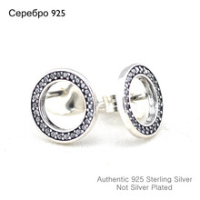 Fashion Jewelry Forever Silver Stud Earring With CZ New 925 Silver Earrings for Women