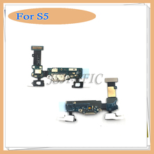 New USB Charger Charging Port Dock Connector Flex Cable For Samsung Galaxy S5 i9600 G900F Replacement Parts
