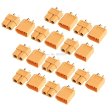 Buy 10Pairs XT60 Male Female Plugs Bullet Connectors RC Lipo Battery -B116 for $3.47 in AliExpress store