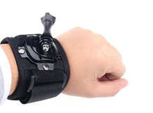 Buy 360 Degree Rotation Wrist Hand Strap Band Tripod Mount Holder Arm Belt Gopro Hero 4 SJCAM SJ4000 Xiaomi Yi Action Camera Acc for $3.03 in AliExpress store