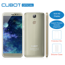 "Cubot X18 3GB RAM 32GB ROM 5.7"" 18:9 Edge-Less Screen Android 7.0 MT6737T Quad Core Smartphone 13MP Camera Fingerprint Cellphone(China)"