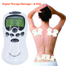 Tens Acupuncture Electric Digital Therapy neck back Machine Massage electronic pulse full body massager health care equipment