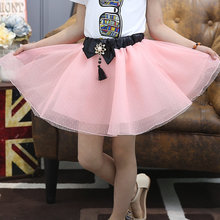 Girls Pettiskirt Baby Girl Tutu Skirt For Infants Teenager Kids One Piece Girl Skirt Ball Gown Childrens Chiffon Skirt With Bow