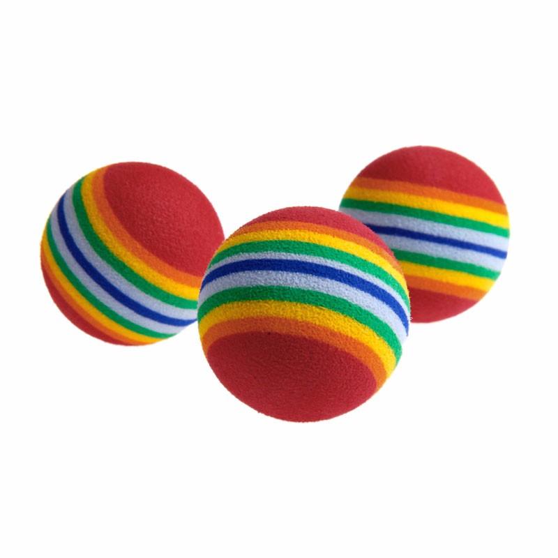 10pcs colorful ball interactive cat toys 10Pcs Colorful Ball Interactive Cat Toys HTB1XpWROXXXXXaqapXXq6xXFXXXp