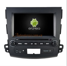 "8"" Inch Quad core Android 6.0 Car DVD player AutoStereo unit for Mitsubishi Outlander 2006~2012 Citroen C-Crosser Peugeot 4007"