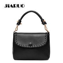 JIARUO Vintage Magnetic Winter Tote bag For Women Leather Handbags Top-Handle Hand bag Office Shoulder Bag Messenger Bags()