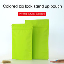 Buy matte green stand pouch zipper aluminum foil VMPET zip lock bag tea coffee bean food packaging bags custom printing for $3.00 in AliExpress store