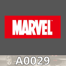 Bevle A0029 Marvel Comics Company Logo Waterproof Sticker for Cars Laptop Luggage Skateboard Graffiti Notebook Stickers