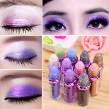 11 color luster light shine beads eye shadow powder mineral ball fluorescent eye shadow powder
