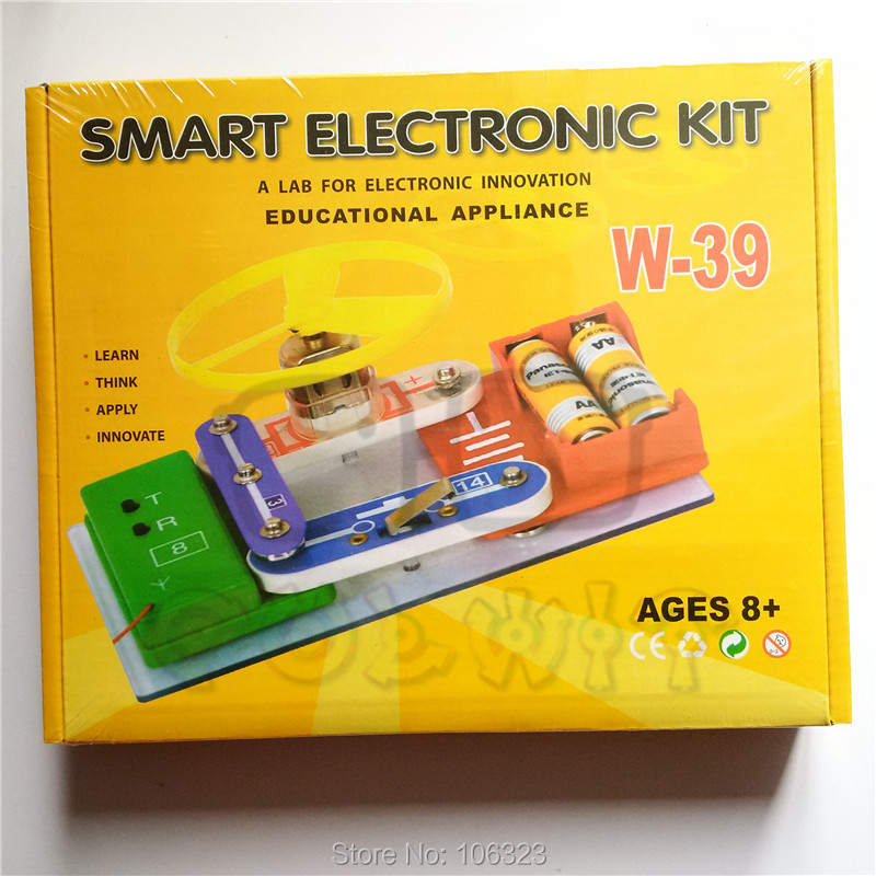 New! Smart Electronic Block Kit, Children Electronic Building Blocks Educational Appliance, Assembling Toys for Kids, Best Gift<br><br>Aliexpress