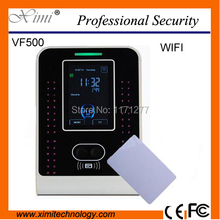 Hight quality Mi-fare card facial recognition time attendance wifi system TCP/IP  USB client office device free shipping