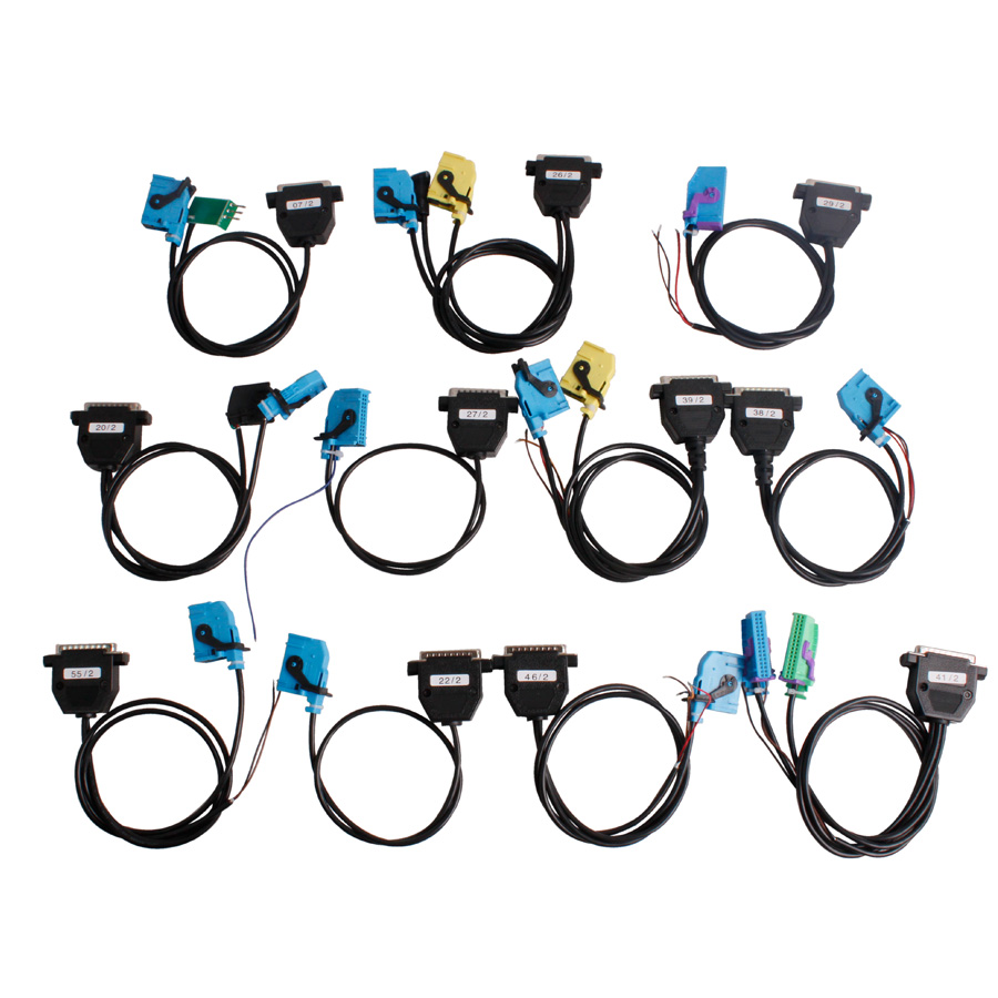 Digiprog III Full Set Cables for Digiprog III Digiprog 3 Odometer Programmer with Fast Shipping (9)