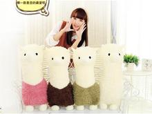 25cm new alpaca/grass mud horse/lama pacos  plush toy cute children birthday gifts lovers present 1pcs