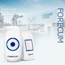 Forecum 8 Digital Door Bell With 36 Songs EU/US Plug Long Distance Remote Control/Receiving LED Motion Sensor Doorbells