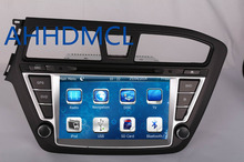 2 DIN Car Radio Audio DVD Player GPS TV Bluetooth Games For Hyundai i20 Left Hand Drive 2014~Up Retail/Pc Free Shipping