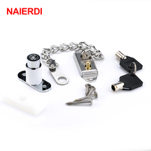 NAIERDI Window Security Chain Lock Door Restrictor Child Safety Stainless Anti-Theft Locks For Sliding Door Furniture Hardware