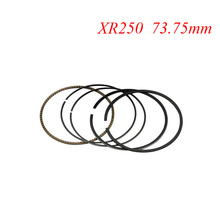 LOPOR Motorcycle Piston Rings Set For Honda XR250 XR 250 BAJA250 (+75) 0.75mm Oversize Bore Size 73.75mm NEW(China)