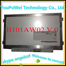 10.1 slim lcd matrix B101AW02 B101AW02 V.0 for ASUS netbook replacement display screen