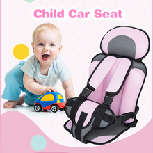 2017 New Car Safety Seats Kids Safety Thickening Cotton Adjustable Kids Children Car Seat Infant Car Seats Child Seat for Cars(China)