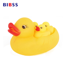 Rubber Dog Toys Small Yellow Duck Baby Play Bathing Toys Squeeze Sound Pets Funny Toy for dogs Water Floating Toys dropshipping(China)