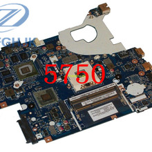 Laptop motherboard ACER Aspire 5750 5750G motherboard P5WE0 LA-6901P HM65 DDR3 Non-integrated 100% tested