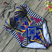 2017 Sexy Push Up One piece Swimsuit Women Bandage Swimwear Plus size Monokini Lace Brazilian Female Cutout Bathing suit Cheap(China)