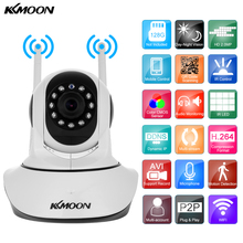 KKmoon 1080P Wireless WIFI IP Camera HD 2MP Pan Tilt Two-way Audio Night Vision Phone APP Control Motion Detection TF Card Slot