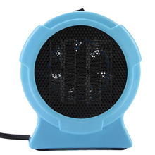 Mini electric home fan heater air warmer Portable small ptc Ceramic Fan Forced Space Heater Electric 220V 200W warm air blower(China)