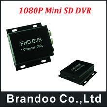 Mini Realtime SD Autos Bus Mobile DVR 1CH Video/Audio Recorder(China)