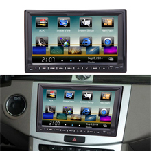 Universal Double 2 Din Car DVD player 7'' GPS Navigation in Dash Car Autoradio Video/Mutimedia Player Car PC Stereo audio player