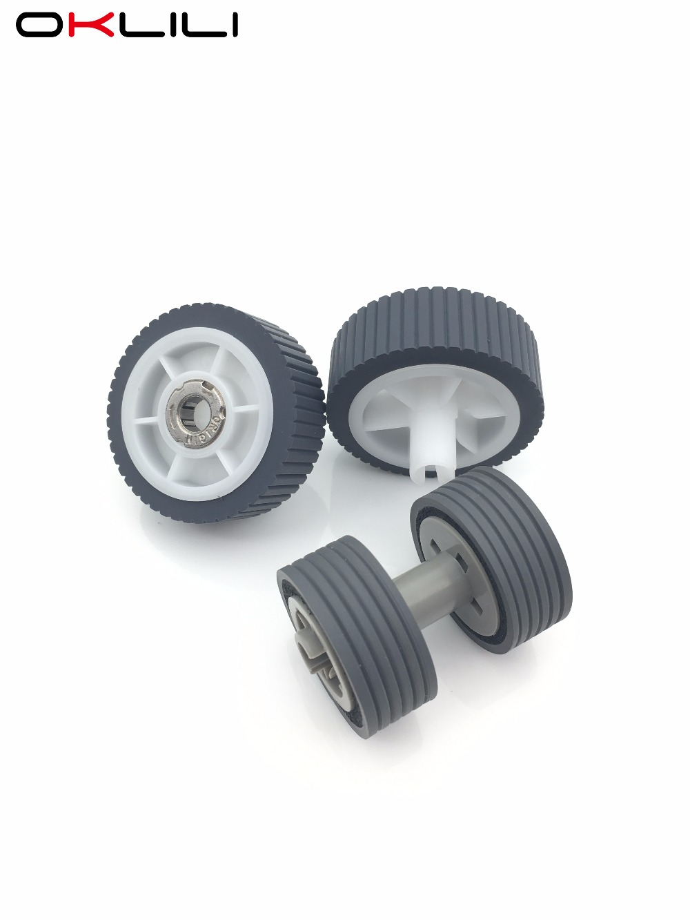 1SETX PA03656-0001 PA03656-E958 PA03656-E976 Brake Roller &amp; Pick Roller Pickup Roller for Fujitsu ScanSnap iX500<br>