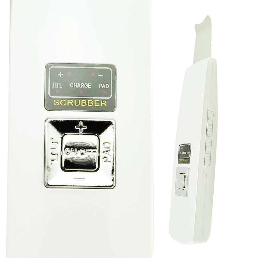 CE/FDA Facial Beauty Machine Rechargeable Ultrasonic Ion Skin Scrubber Microdermabrasion Facial Massager Spa<br>