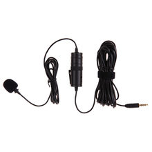 BY-M1 Lavalier Lapel Omnidirectional Condenser Recording Microphone for iPhone Nikon Canon Youtube Vlogging broadcast(China)