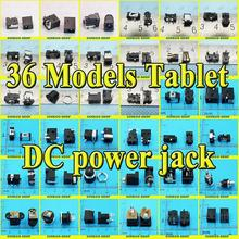 36models,360pcs DC power jack connector, DC Charging power jack female Socket for Laptop Tablet, Mini Pad,Computer