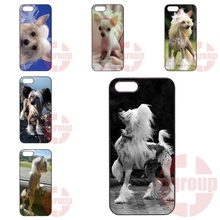 For Xiaomi Redmi Pro 3S Prime 3X For Huawei G6 G7 G8 Honor 5A 8 V8 Note 8 Design Black Skin Phone Dog of breed Chinese crested