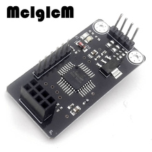 MCIGICM free shipping 1pcs ATMEGA48 With NRF24L01 Chip Wireless Shield Module SPI To IIC I2C TWI Interface