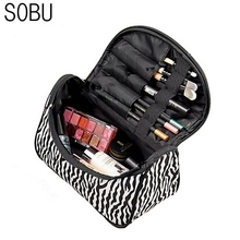 Professional Cosmetic Case Bag Large Capacity Portable Women Makeup Multifunction cosmetic bags storage travel bags M1049