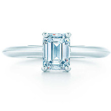 585 Gold Emerald Cut Jewelry 1CT SONA Synthetic Diamonds Ring For Bride Sterling Gold Jewelry Pure 585 Claws Setting in Gold 585
