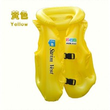 2017 new ABC vest inflatable children swim suits children life jackets children floating clothing