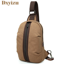Men's Ruched Crossbody Travel School Bags Casual Large Capacity Crossbody Pack Teenager Laptop Messenger Bags Blue Coffee khaki(China)