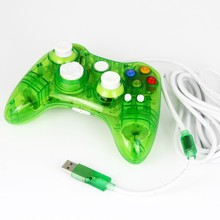 2016 High Quality Green Mini Transparent Game Pad Usb Controller Joypad For Xbox 360