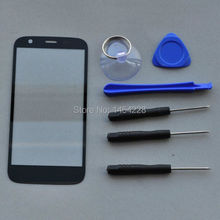 BINYEAE 1 PC New Front Outer Touch Glass Panel Lens With tools For Motorola Moto G XT1032 XT1033 Cell Phone