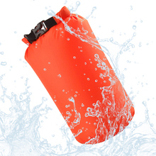 2017 8L Nylon Portable Waterproof Dry Bag Pouch for Boating Kayaking Fishing Rafting Swimming Camping Rafting SUP Snowboarding(China)