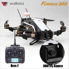 F16884/85 Walkera Furious 320 RC Drone with Camera TVL800 1080P Devo7  2.4G Transmitter RTF Quadcopter OSD CFP Modular