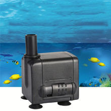 Ultra-quiet Design 450L/h 6W Aquarium Pump Mini Electric Water Pump Aquarium Submersible Air Water Pump for Aquarium
