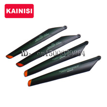 Free shipping 2set/lot DH 9053 RC Helicopter DH9053-04 spare parts flying blade main rotor part (1 set = 4pcs)(China)