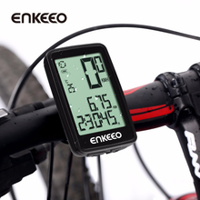 Enkeeo Cycling Bicycle Speedometer Wired/Wirless Bicycle Computer with USB Rechargeable Ciclocomputador Wireless/Wired Stopwatch